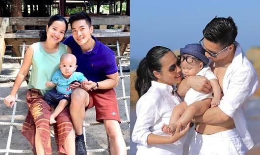 Gia đình hạnh phúc vợ đẹp - con ngoan của 2 'hoàng tử xiếc' Quốc Cơ, Quốc Nghiệp