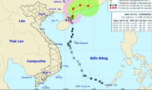 Bão nối bão, bắc biển Đông động mạnh