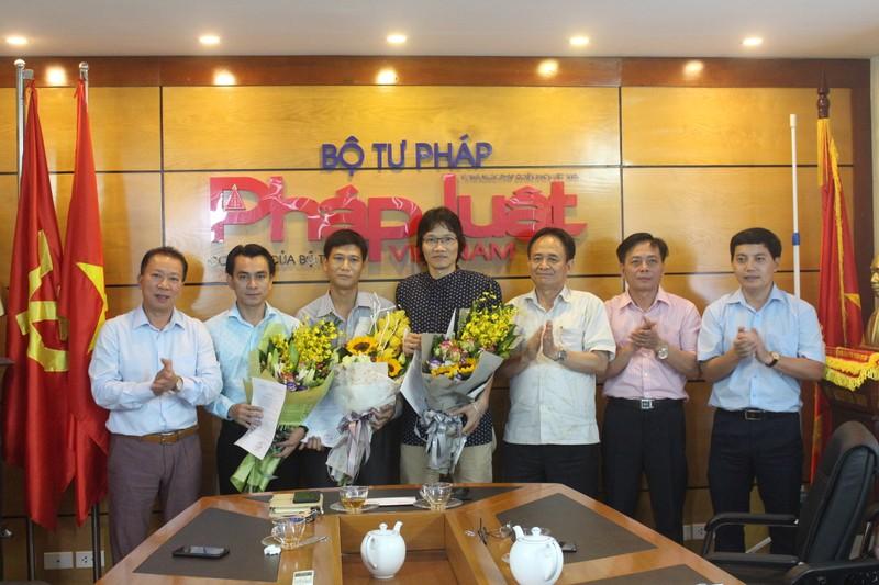 Báo Pháp luật Việt Nam bổ nhiệm lãnh đạo cấp phòng
