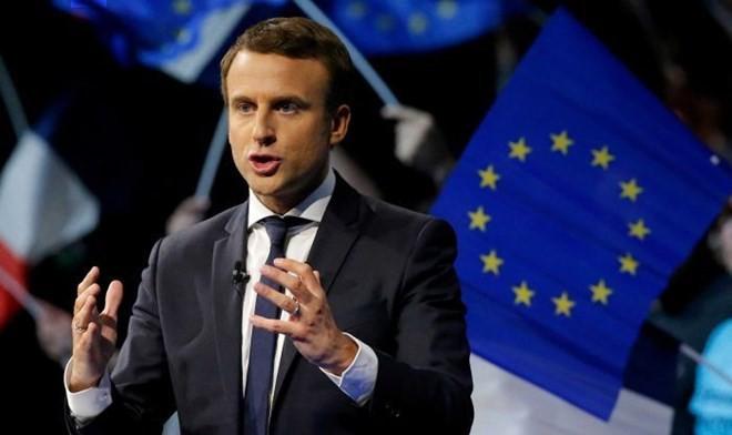 Tổng thống Pháp Emmanuel Macron. (Nguồn: Reuters)