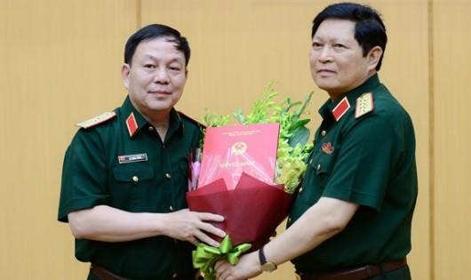 Công bố loạt quyết định nhân sự Quân đội, Công an