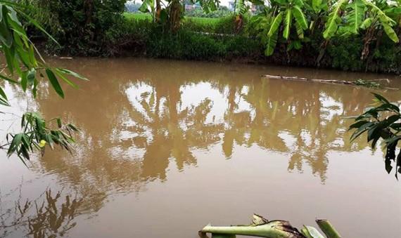 Khúc sông Đồng Thửa, nơi bà Bưởi liều nhảy xuống chạy trốn nhưng vẫn bị Triều đuổi kịp chém trọng thương.
