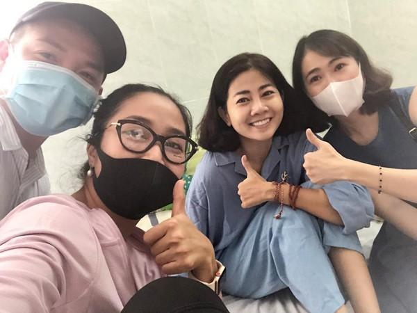 Nhiều bạn bè đồng nghiệp cảm phục tinh thần lạc quan của Mai Phương.