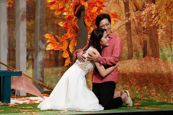 Nam Em từng công khai có mối quan hệ tình cảm với Trường Giang khi cả hai tham gia chung một số gameshow.