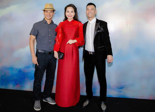 Nghệ sĩ hài Xuân Bắc và MC Mỹ Lan cũng có mặt.