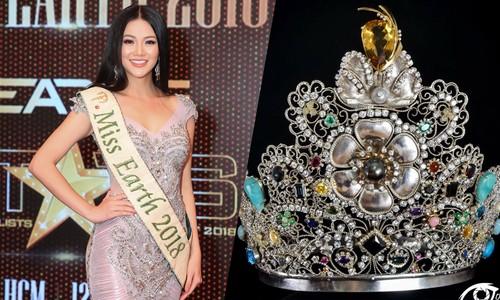 Vương miện của Phương Khánh và các hoa hậu quốc tế được dùng thế nào?