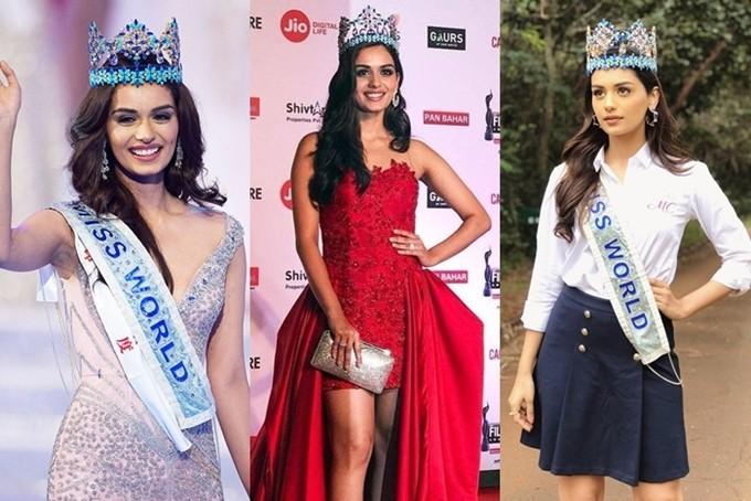 Vương miện Miss World có hai phiên bản. Trong đêm chung kết, tân hoa hậu được trao chiếc vương miện gốc có trị giá2 triệu USD, khoảng45 tỷ đồng. Sau đó, hoa hậu sử dụng phiên bản
