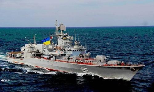 Ukraine điều tàu chiến đến Biển Azov thách thức Nga