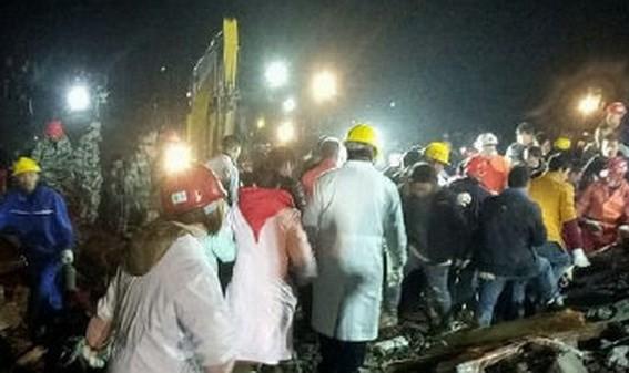Lở đất tại Trung Quốc, chôn vùi ít nhất 12 người