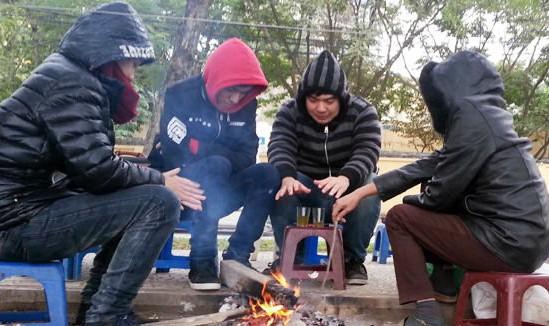 Không khí lạnh tăng cường mạnh, Hà Nội rét tới 10 độ C