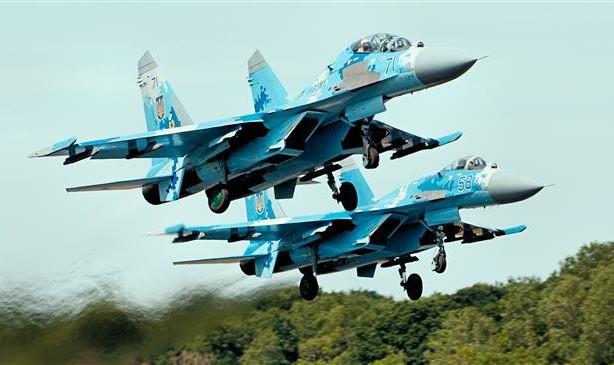 Chiến đấu cơ SU-27 của Nga. (Ảnh: PressTV)