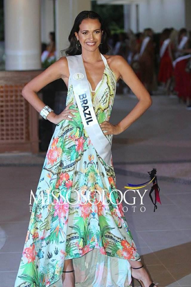 Đọ nhan sắc của Ngân Anh với thí sinh của cuộc thi Hoa hậu liên lục địa 2018 - Ảnh 11.