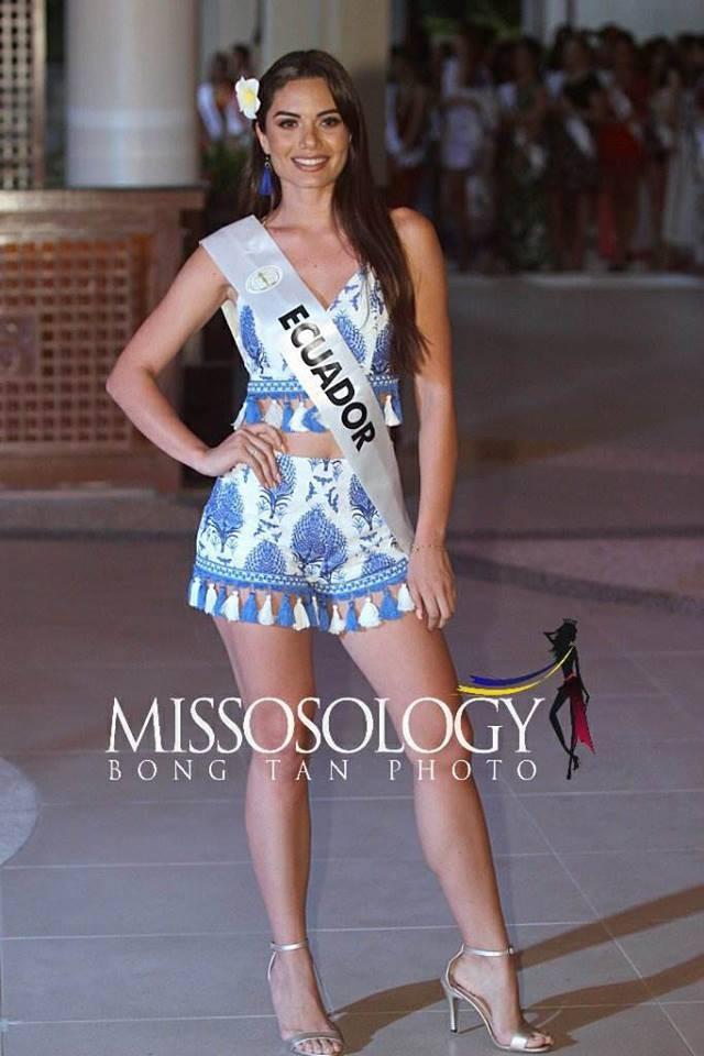 Đọ nhan sắc của Ngân Anh với thí sinh của cuộc thi Hoa hậu liên lục địa 2018 - Ảnh 9.