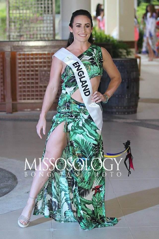 Đọ nhan sắc của Ngân Anh với thí sinh của cuộc thi Hoa hậu liên lục địa 2018 - Ảnh 27.