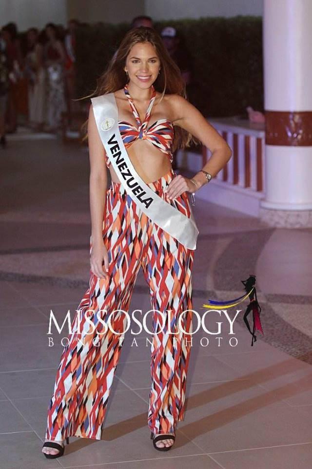 Đọ nhan sắc của Ngân Anh với thí sinh của cuộc thi Hoa hậu liên lục địa 2018 - Ảnh 25.