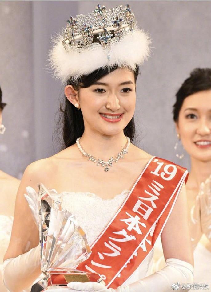 Tranh cãi nhan sắc của tân Hoa hậu Nhật Bản - Ảnh 1.