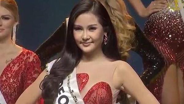 Lê Âu Ngân Anh giành giải Á hậu Miss Intercontinental 2018