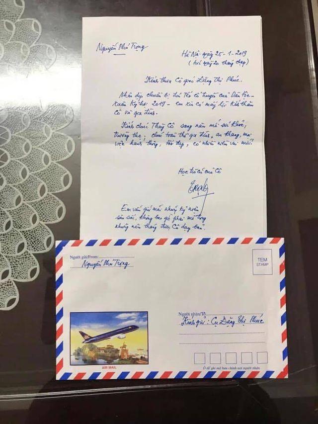 Tổng Bí thư, Chủ tịch nước gửi thư tay chúc Tết cô giáo cũ - 1