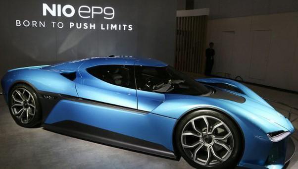 EP9 - một trong những dòng xe hơi chạy điện nổi tiếng của hãng NIO.