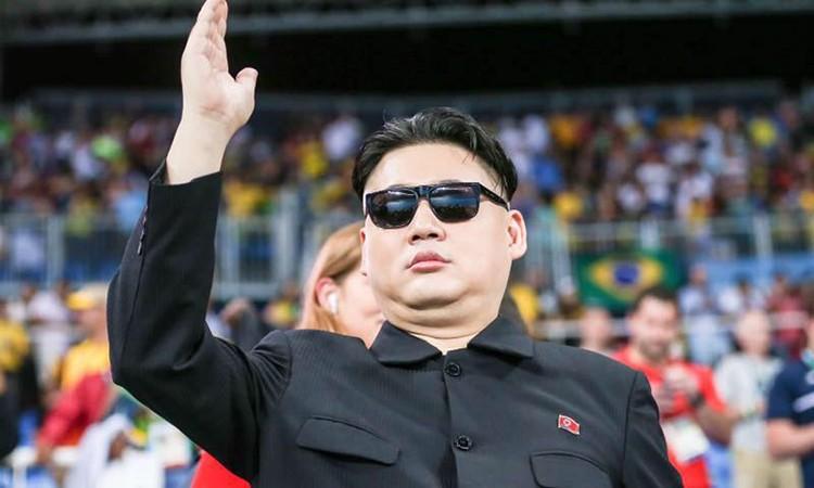 Howard X, bản sao của lãnh đạo Triều Tiên Kim Jong-un. Ảnh: Facebook
