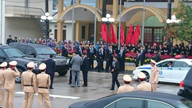 Đội an ninh Triều Tiên tới ga Đồng Đăng - 1