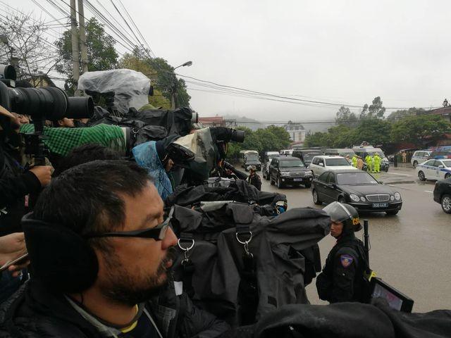 Đội an ninh Triều Tiên tới ga Đồng Đăng - 3