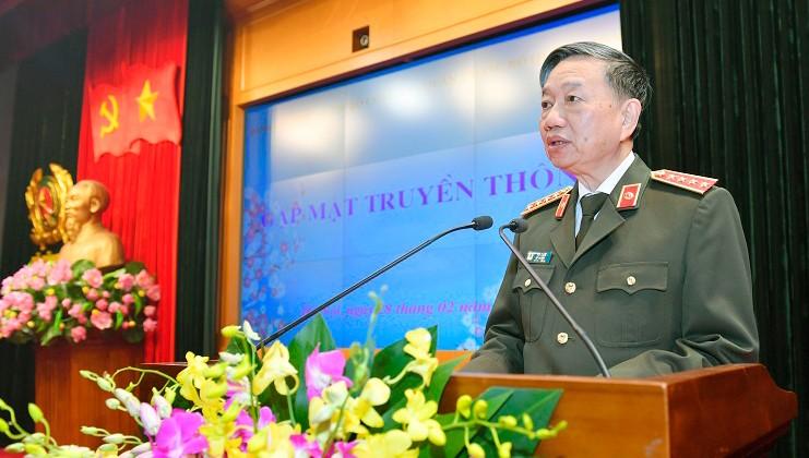 Đại tướng Tô Lâm nói về sức mạnh hiệp đồng tác chiến giữa công an và quân đội