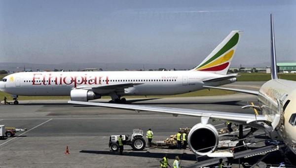 Một máy bay của hãng hàng không Ethiopian Airlines. Ảnh: AFP.