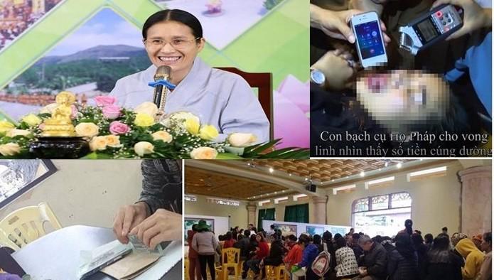 Đề nghị công an điều tra các hành vi bà Phạm Thị Yến tại chùa Ba Vàng