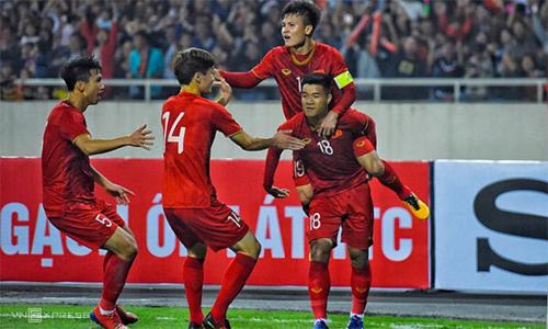 Việt Nam đại thắng Thái Lan 4-0, giành vé vòng chung kết U23 châu Á
