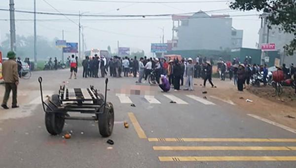 Ô tô khách đâm chết 7 người đi đám tang ở Vĩnh Phúc chạy vận tốc 78km/h