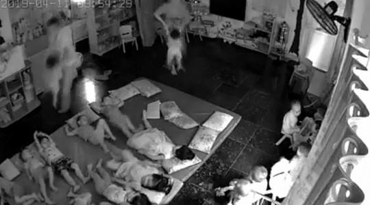 Quảng Ninh: đình chỉ hoạt động trường mầm non tư thục có dấu hiệu bạo hành trẻ em - Ảnh 1.