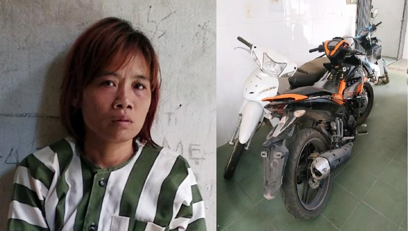 'Nữ quái' hơn 40 tuổi đột nhập nhà dân trộm xe máy