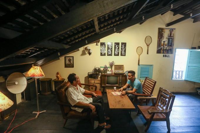 Hầm chứa vũ khí của biệt động trong quán cà phê ở Sài Gòn
