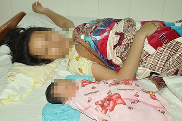 Bé gái 10 tuổi phải đến BV Phụ sản TƯ để sinh con