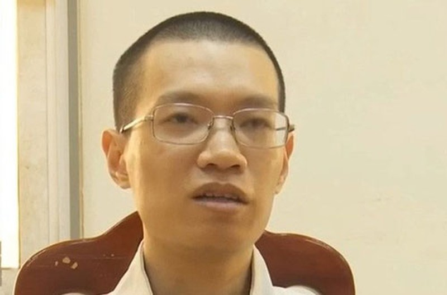 Bị can Nguyễn Anh Tú.