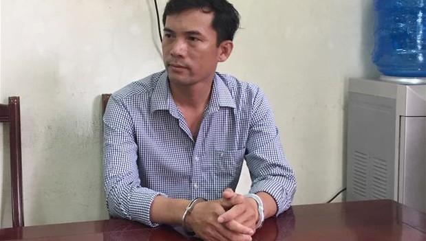Đối với Nguyễn Năng Tĩnh. Ảnh: Công an tỉnh Nghệ An.