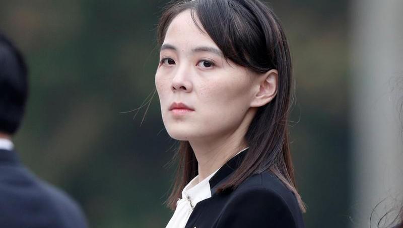 Bà Kim Yo-yong. Ảnh: REUTERS
