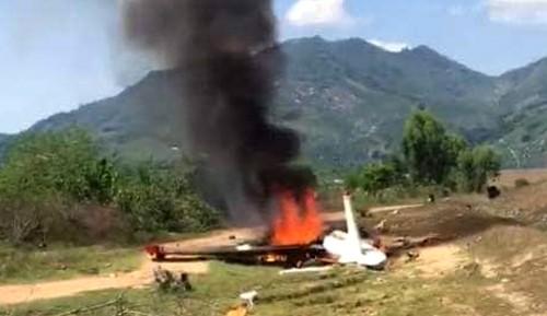 Danh tính 2 phi công hy sinh do rơi máy bay quân sự ở Khánh Hòa