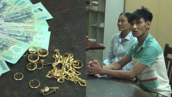 Gã trai nửa đêm trèo vào nhà chị hàng xóm trộm 4 cây vàng và hàng chục triệu đồng