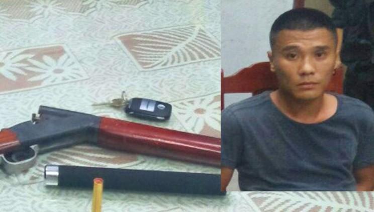 Truy bắt đối tượng mang súng, lao xe phân khối lớn vào cảnh sát