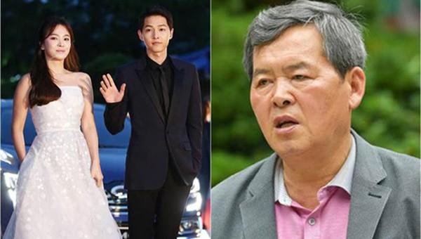 Bố của Song Joong Ki sốc vì con trai ly dị