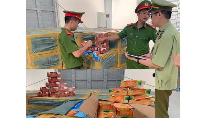 Phát hiện ô tô chở hơn 2 tấn shisha tử TP HCM ra Hà Nội tiêu thụ