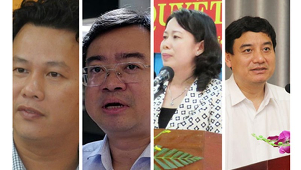 Chân dung 4 Bí thư tỉnh ủy trẻ tuổi nhất nước hiện nay