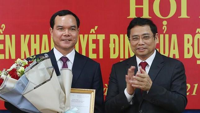 Bí thư tỉnh ủy Hà Nam Nguyễn Đình Khang được điều động giữ chức vụ mới