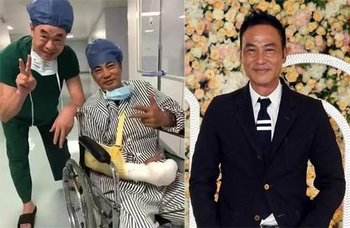 Nhậm Đạt Hoa phục hồi tốt sau hai ca phẫu thuật. Ảnh:On.