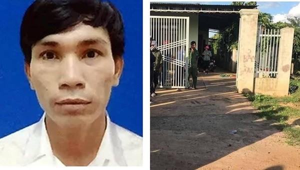 Đối tượng Nguyễn Văn Tùng và hiện trường gây án.