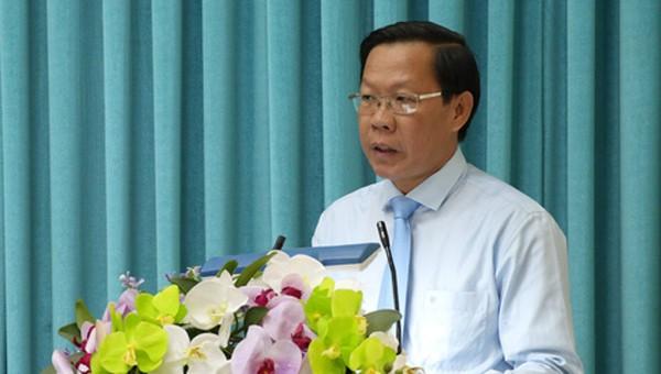 Tân Bí thư Tỉnh ủy Bến Tre Phan Văn Mãi.
