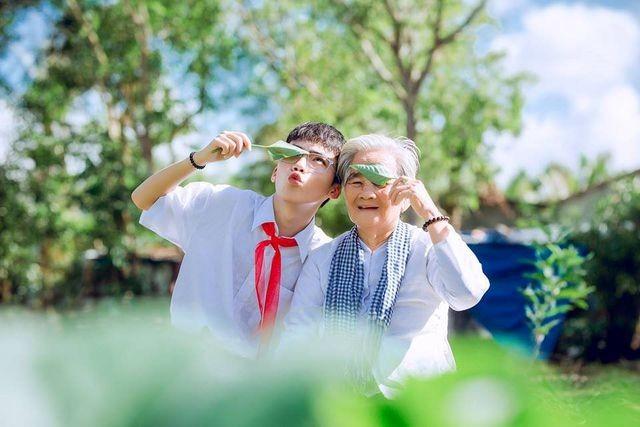 Câu chuyện xúc động phía sau bộ ảnh bà nội 89 tuổi mặc váy cưới - 11