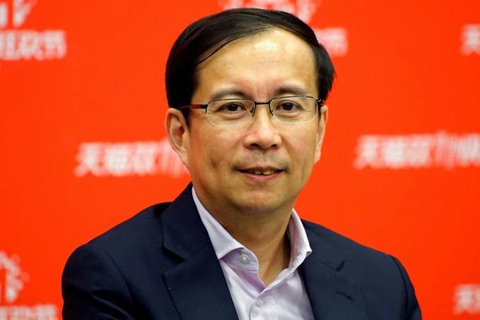 Daniel Zhang, người sẽ thay thế vị trí chủ tịch Alibaba của Jack Ma. Ảnh: Reuters.